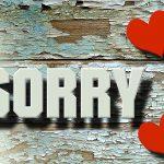 Die Fähigkeit, sich richtig zu entschuldigen