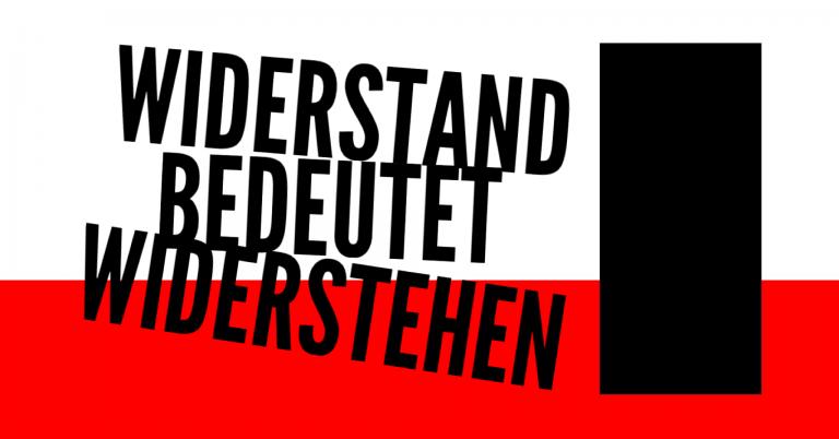 Widerstand bedeutet Verstehen
