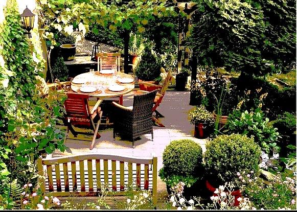 Wundervoller Gartenplatz kann zur Lieblingsstelle werden