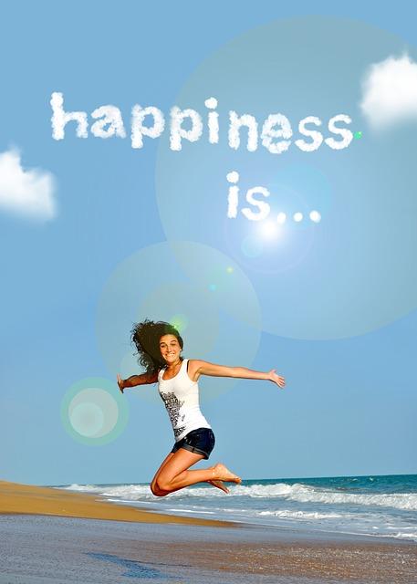 Lebensfreude ist... ... DAS, was du daraus machst.