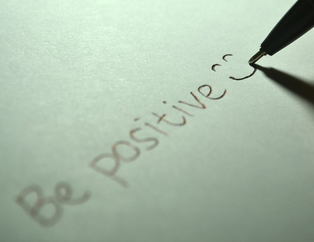 Denke positiv und sei es...