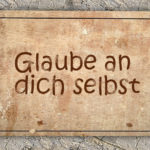 Positive Selbstbeeinflussung